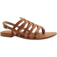 Chaussures Femme Sandales et Nu-pieds L'atelier Tropezien IL550 MARRON MOYEN