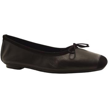 Chaussures Femme Ballerines / babies Reqin's HARMONY PEAU LIS NOIR