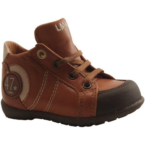 Chaussures Garçon Baskets montantes Little Mary FELIX COGNAC