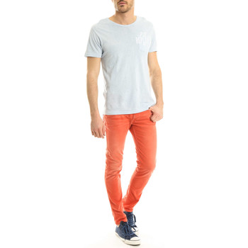 Vêtements Homme Jeans skinny Replay Jeans Slim Anbass  Rouge Rouge