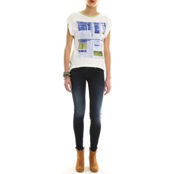 Vêtements Femme T-shirts manches courtes Salsa Top Mc Print  Vert Vert
