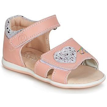Chaussures Fille Sandales et Nu-pieds Citrouille et Compagnie JAFALGA Rose