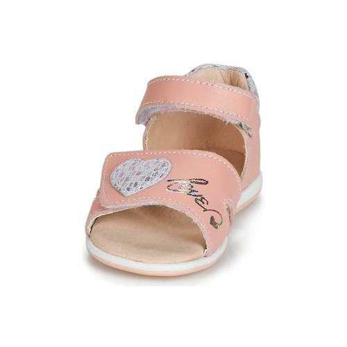 Sandales Et Rose Fille pieds Jafalga Compagnie Chaussures Nu Citrouille XPTZiOku