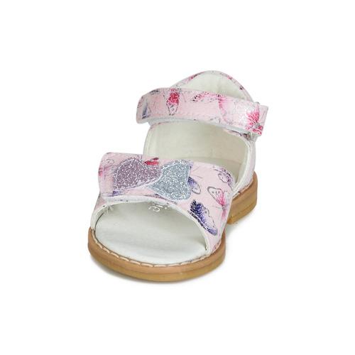Chaussures Nu Jariloute Fille Compagnie Rose pieds Sandales Citrouille Et kuXZOPi