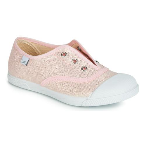 Chaussures Fille Baskets basses Citrouille et Compagnie RIVIALELLE Rose métallisé