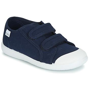 Chaussures Enfant Baskets basses Citrouille et Compagnie GLASSIA Marine