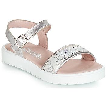 Chaussures Fille Sandales et Nu-pieds Citrouille et Compagnie JIMINITE Rosé libellule