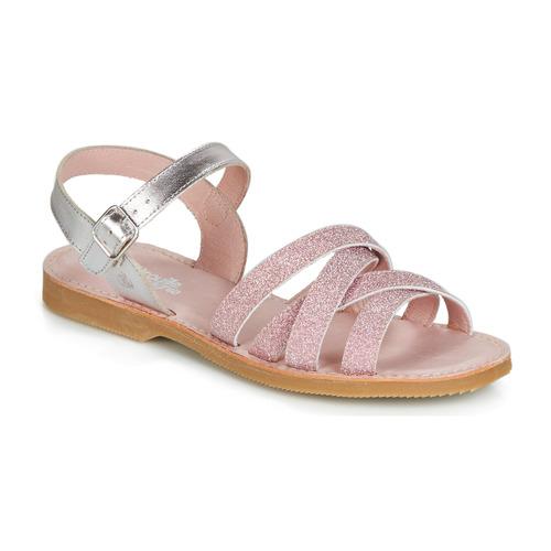 Chaussures Fille Sandales et Nu-pieds Citrouille et Compagnie JARDINA Rosé