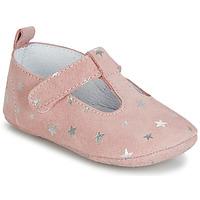 Chaussures Fille Chaussons Citrouille et Compagnie JARI Rose