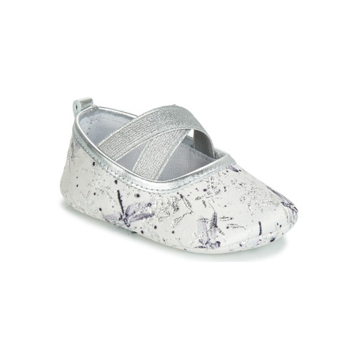 Chaussures Fille Chaussons Citrouille et Compagnie JERIFOU Gris libellule