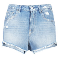Vêtements Femme Shorts / Bermudas Replay PABLE Bleu 010