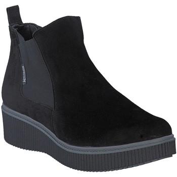 Chaussures Femme Bottines Mephisto Bottine velours EMIE Noir