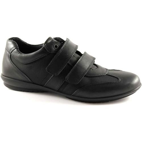 Chaussures Homme Baskets mode Igi&co IGI & CO 37032 homme noir chaussures sport larme élégante Nero