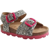 Chaussures Fille Sandales et Nu-pieds Reqin's OASIS GLITTER ARGENT