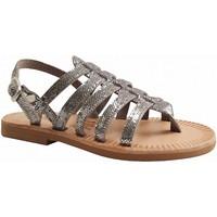 Chaussures Femme Sandales et Nu-pieds Les Spartiates Phoceennes 5 LC ARGENT