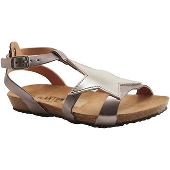 Chaussures Fille Sandales et Nu-pieds Plakton MAM S STAR SILVER