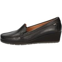 Chaussures Femme Mocassins Valleverde 11402 Noir