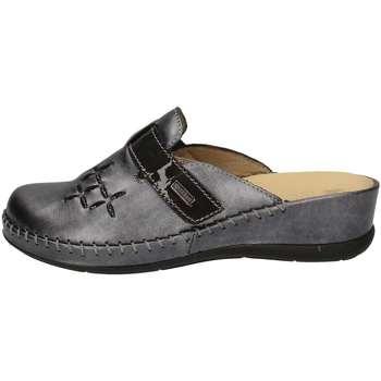 Chaussures Femme Sabots Susimoda 6706/58 Pantoufle Femme Gris Gris