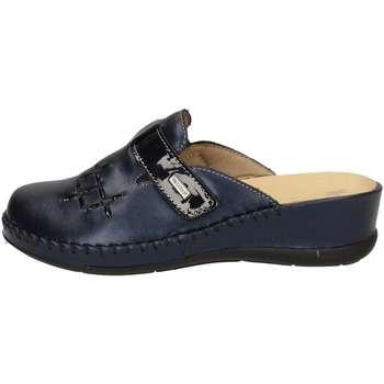 Chaussures Femme Chaussons Susimoda 6706/58 Pantoufle Femme Bleu Bleu