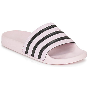 huge selection of e6d94 2262a Chaussures Femme Claquettes adidas Originals ADILETTE W Rose
