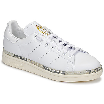 huge discount 23d55 54e0f Chaussures Femme Baskets basses adidas Originals STAN SMITH NEW BOLD Blanc
