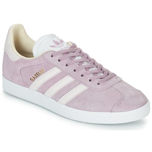 Chaussures Femme Baskets basses adidas Originals GAZELLE W Violet