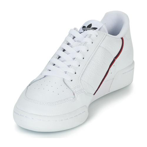 80 Baskets Basses Adidas Blanc Originals Continental rCBxodeWQE
