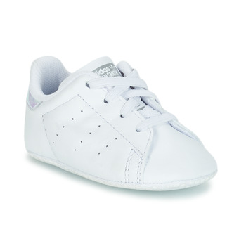 Chaussures Fille Baskets basses adidas Originals STAN SMITH CRIB Blanc