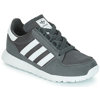 Chaussures Enfant Baskets basses adidas Originals OREGON Gris