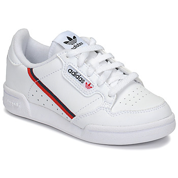 on sale 24e20 11dda Chaussures Enfant Baskets basses adidas Originals CONTINENTAL 80 C Blanc