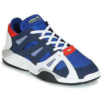 Chaussures Homme Baskets basses adidas Originals DIMENSION LO Blanc / bleu