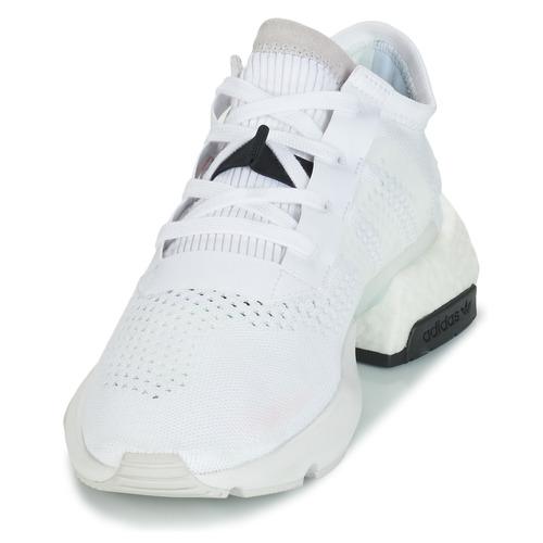 Homme Baskets Blanc Adidas d Originals P o Basses eQBorxdCW