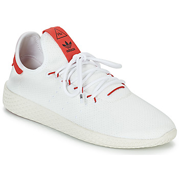 Chaussures Baskets basses adidas Originals PW TENNIS HU Blanc / Rouge