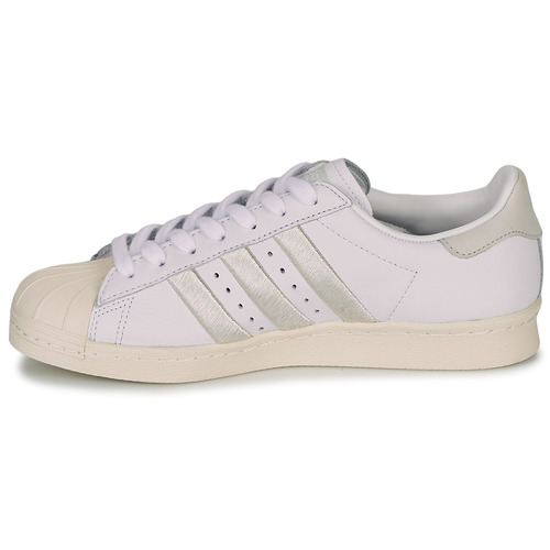 Originals Basses Adidas Femme BlancBeige Superstar W 80s Baskets hdBostQrCx
