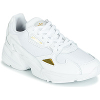 Chaussures Femme Baskets basses adidas Originals FALCON W Blanc / Gold