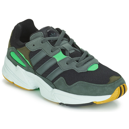 new style ebc0d 77f56 Chaussures Homme Baskets basses adidas Originals YUNG 96 Gris   Vert