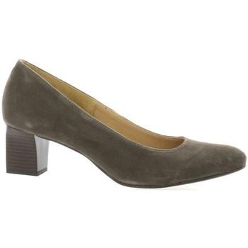 Chaussures Femme Escarpins Pao Escarpins cuir velours Gris