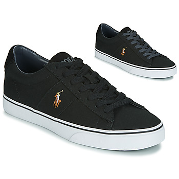Chaussures Homme Baskets basses Polo Ralph Lauren SAYER Noir