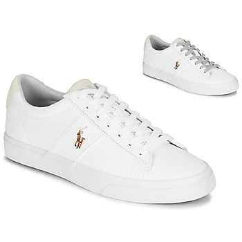 Chaussures Homme Baskets basses Polo Ralph Lauren SAYER Blanc