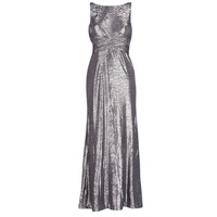 Vêtements Femme Robes longues Lauren Ralph Lauren SLEEVELESS EVENING DRESS GUNMETAL Gris Argenté