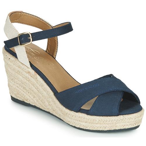 Chaussures Femme Sandales et Nu-pieds Tom Tailor 6990101-NAVY Marine