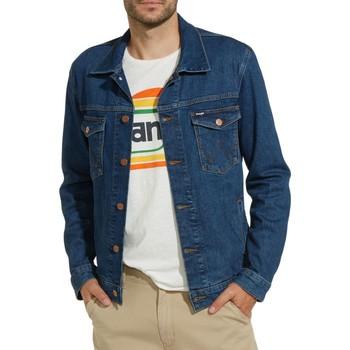 Vêtements Homme Blousons Wrangler Veste en jeans H Bleu Bleu