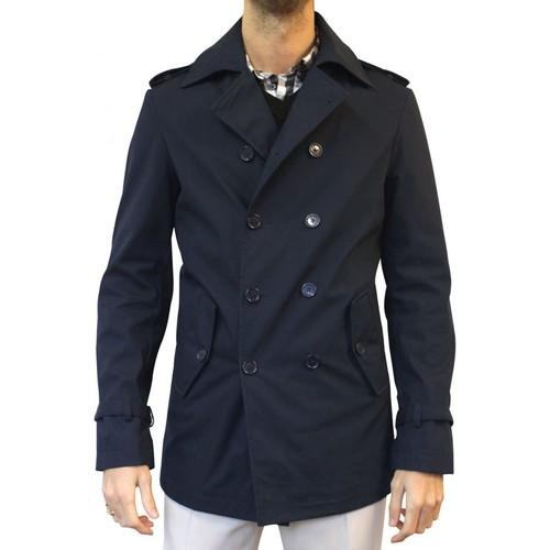 Vêtements Homme Manteaux Christian Lacroix Caban imperméable Taille : H Marine Marine