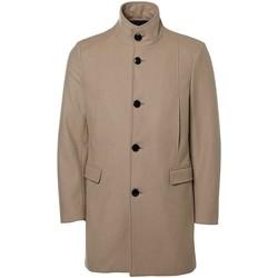 Vêtements Homme Manteaux Selected Manteau en drap de laine Taille : H Beige S Beige