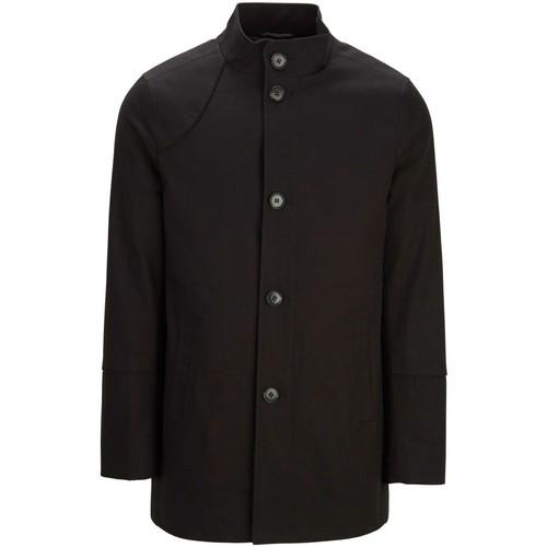 Vêtements Homme Manteaux Selected Manteau H Noir Noir