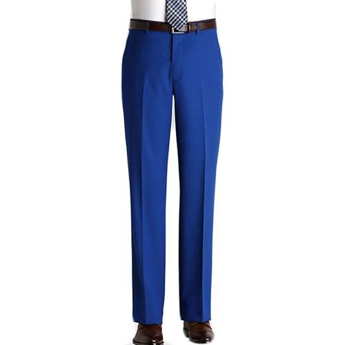 Vêtements Homme Chinos / Carrots Kebello Pantalon en polyester H Bleu Bleu