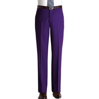 Vêtements Homme Pantalons Kebello Pantalon en polyester H Violet Violet