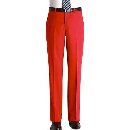 Vêtements Homme Pantalons de costume Kebello Pantalon en polyester H Rouge Rouge