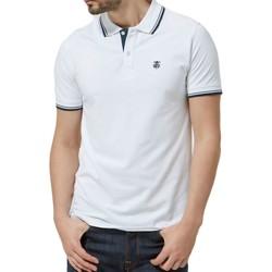 Vêtements Homme Polos manches courtes Selected Polo manches courtes H Blanc Blanc