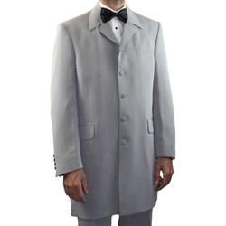 Vêtements Homme Vestes de costume Kebello Costume Redingote Taille : H Gris 46V-38P Gris
